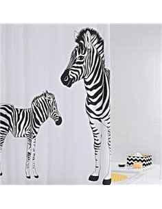 Ridder Bathroom Curtain Zebra 42311 - 1