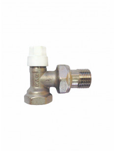 Straight lockshield regul.valve 0404303 - 1