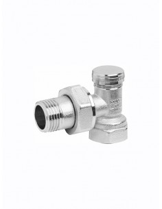 Angle lockshield regulating valve 3603 - 1