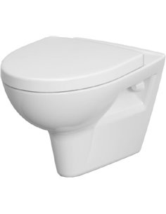 Cersanit Wall Hung Toilet Parva new clean on - 1