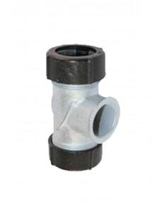 Bezvītnu trejgabalsIV tērauda caurulēm 3103GE 3/4 GEBO - 1