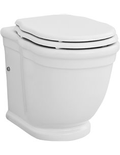 ArtCeram Back To Wall Toilet Hermitage HEV005 01 - 1