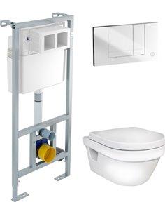 Komplekts: Gustavsberg Hygienic Flush WWC - 1