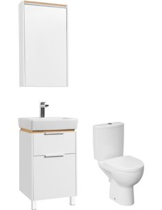 Set:  Toilet Cersanit Parva new clean on   + Furniture  STWORKI Дублин 50 - 1