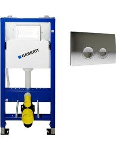 Geberit iebūvējams wc poda rāmis Duofix UP100 458.103.00.1 - 1