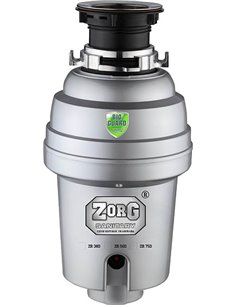 Zorg atkritumu smalcinātājs Inox D ZR-56 D - 1