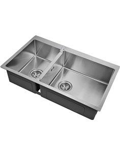 Мойка кухонная Zorg Inox R 78-2-51 R