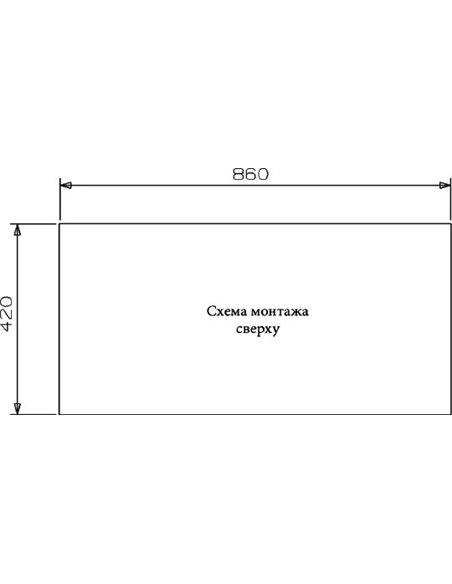 Reginox virtuves izlietne Ontario 40х40+40х40 LUX OKG L - 3