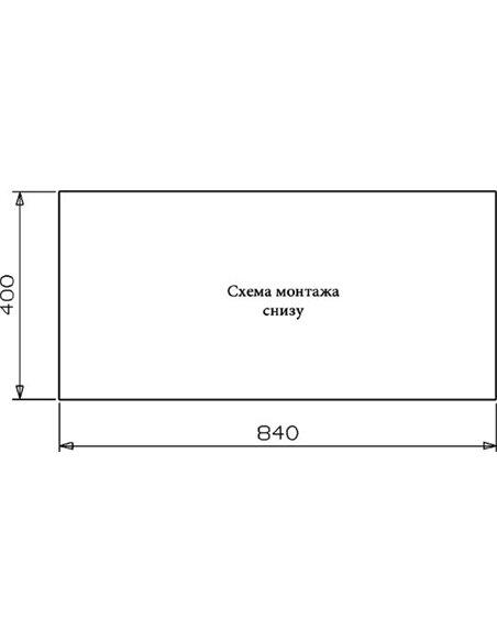 Reginox virtuves izlietne Ontario 40х40+40х40 LUX OKG L - 4