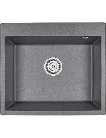 Granula virtuves izlietne GR-6001 графит - 1