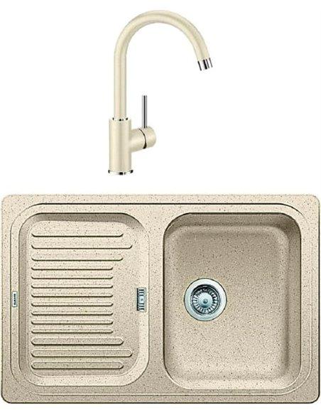 Komplekts: Virtuves izlietne Blanco Classic 45S + Jaucējkrāns Mida 524205 - 1