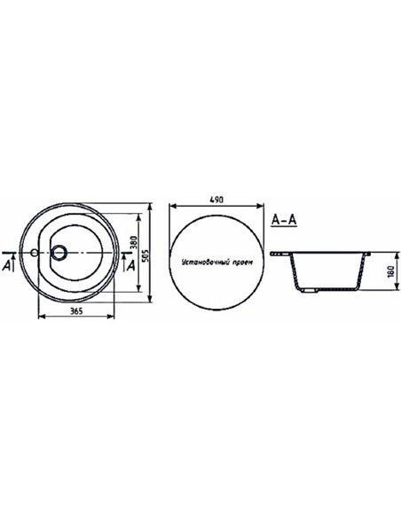 Mixline virtuves izlietne ML-GM11 - 2