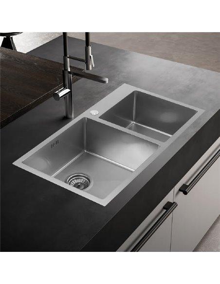 Melana virtuves izlietne S8045H сатин - 2