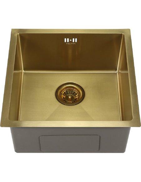 Melana virtuves izlietne D4645HG золото - 1