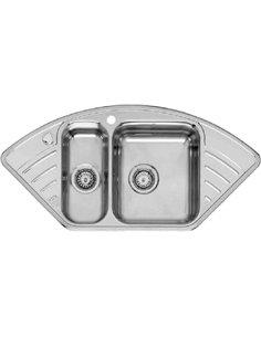 Reginox virtuves izlietne Empire R15 LUX KGOKG Right - 1