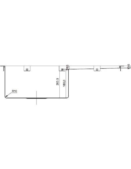 Seaman virtuves izlietne Eco Marino SMV-780R - 3