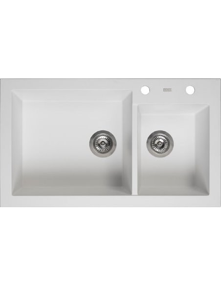 "Reginox virtuves izlietne Amsterdam 25 Pure White 3,5"" (c/box) - 1"