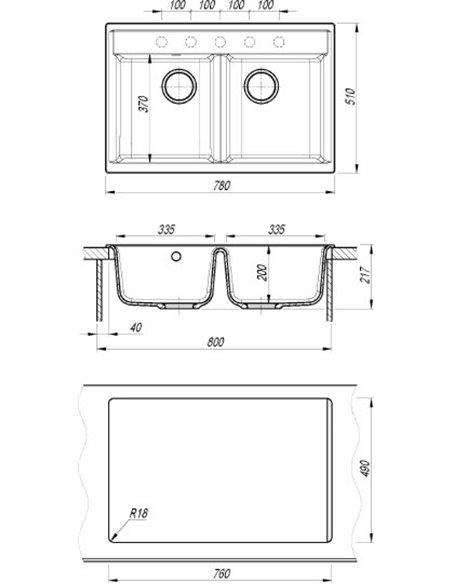Dr. Gans virtuves izlietne Astra - 3