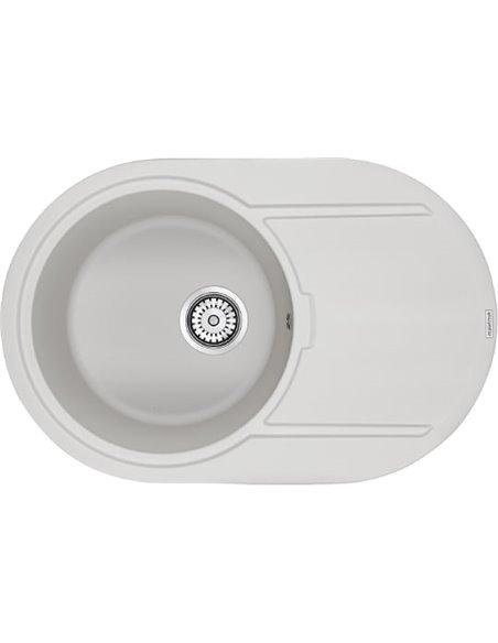 Paulmark virtuves izlietne Fittich PM317650-WH - 1