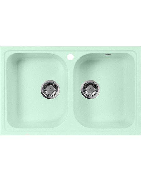 AquaGranitEx virtuves izlietne M-15 - 1