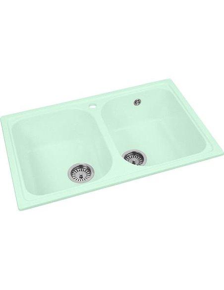 AquaGranitEx virtuves izlietne M-15 - 2