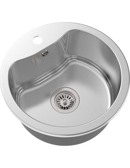 Komplekts: Virtuves izlietne Oulin OL-357 + Jaucējkrāns VitrA Fold S Sink Mixer A42155EXP - 3