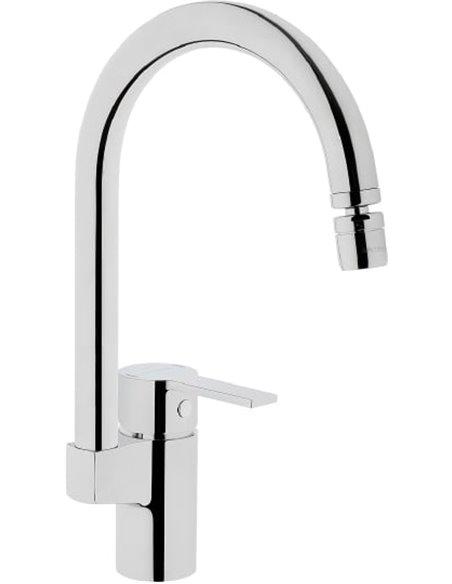 Komplekts: Virtuves izlietne Oulin OL-357 + Jaucējkrāns VitrA Fold S Sink Mixer A42155EXP - 4