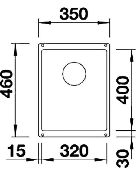 Blanco virtuves izlietne Subline 320-U - 2