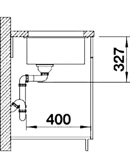 Blanco virtuves izlietne Subline 320-U - 3