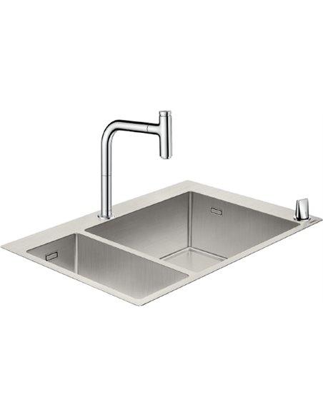 Komplekts: Hansgrohe C71-F655-09 43206000 - 1