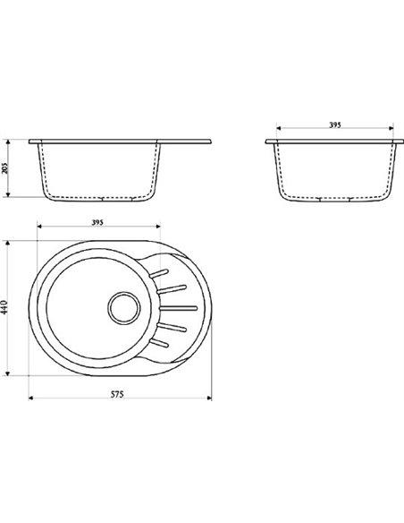 Marrbaxx virtuves izlietne Тейлор Z010Q004 - 3