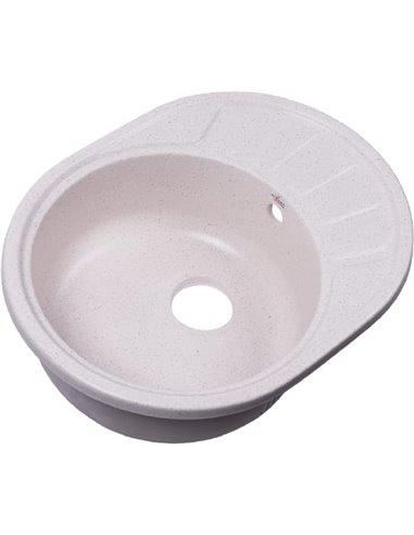 Rossinka virtuves izlietne RS58-45RW white - 1
