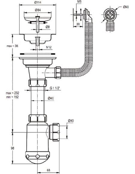 Granula virtuves izlietne GR-7801 - 3