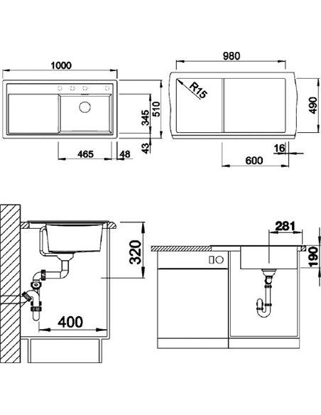 Blanco virtuves izlietne Zenar XL 6S - 4