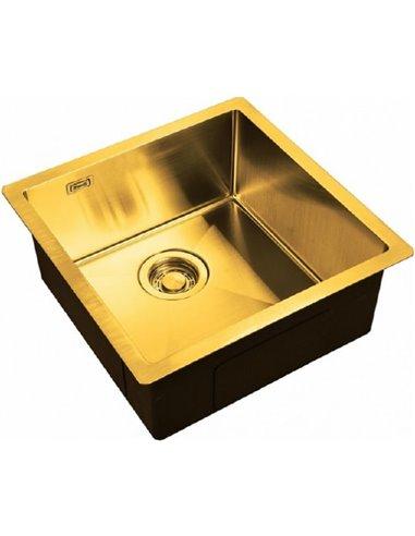 Zorg virtuves izlietne Light ZL R 480440 BRONZE - 1