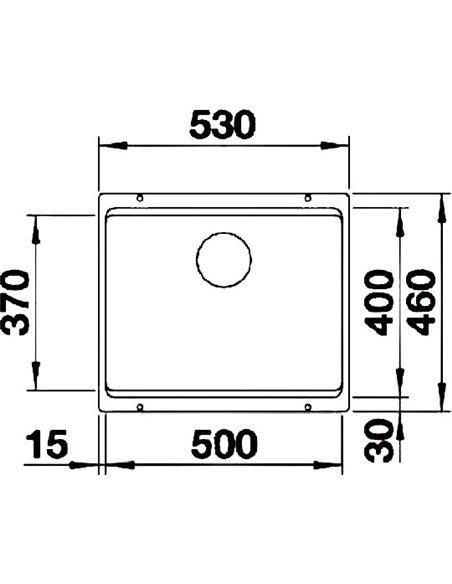 Blanco virtuves izlietne Etagon 500-U - 2