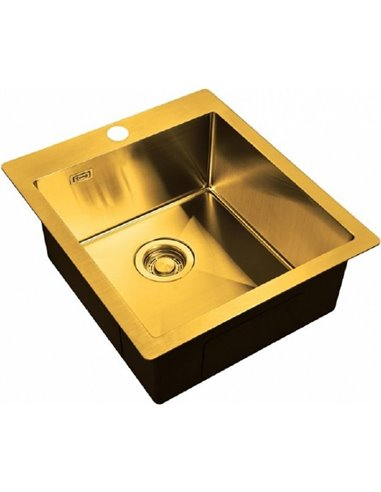 Zorg virtuves izlietne Light ZL R 450510 BRONZE - 1