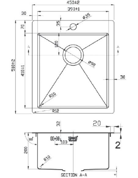 Zorg virtuves izlietne Light ZL R 450510 BRONZE - 2