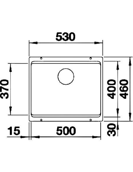 Blanco virtuves izlietne Etagon 500-U - 3