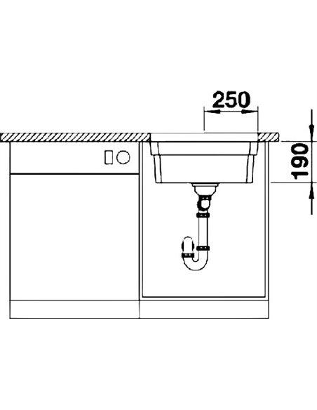 Blanco virtuves izlietne Etagon 500-U - 5