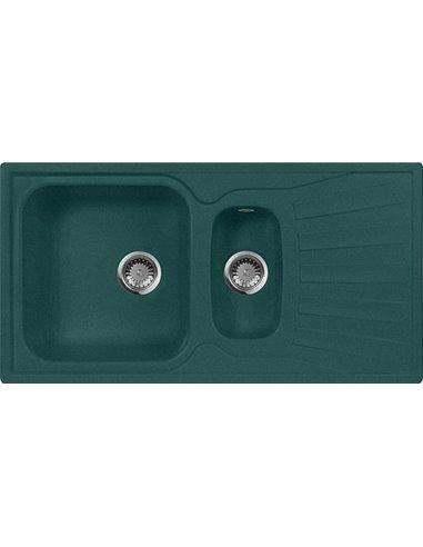 AquaGranitEx virtuves izlietne M-09к - 1