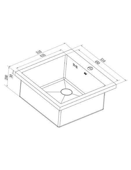 Zorg virtuves izlietne Inox RX HR-5151HR - 3