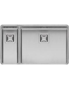 Reginox virtuves izlietne Texas 18x40+50x40 LUX L - 1