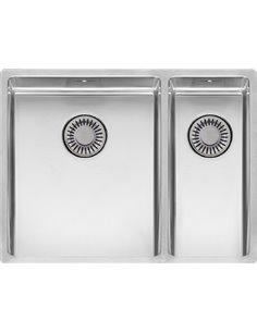"""Reginox virtuves izlietne New York 34x40+18X40 LUX 3,5"""" (c/box) L - 1"""