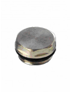 Plug (metallic) with rubber joint 9825 Z - 1