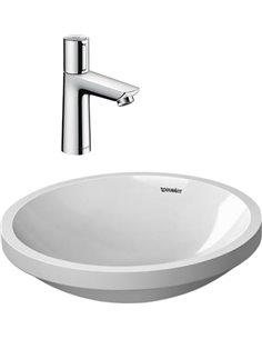 Set:  Mixer Hansgrohe Talis Select E 71750000 for basin + Рукомойник Duravit Architec 0319420000 - 1