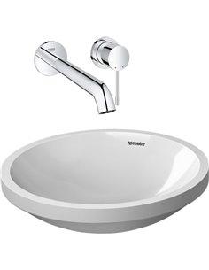 Set:  Mixer Grohe Essence New 19967001 for basin + Рукомойник Duravit Architec 0319420000 - 1