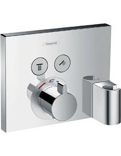 Hansgrohe termostata jaucējkrāns vannai ar dušu Logis 15765000 - 1