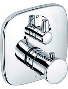 Kludi termostata jaucējkrāns vannai ar dušu Ambienta 538300575 - 1