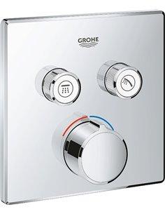 Grohe jaucējkrāns vannai ar dušu Grohtherm SmartControl 29148000 - 1